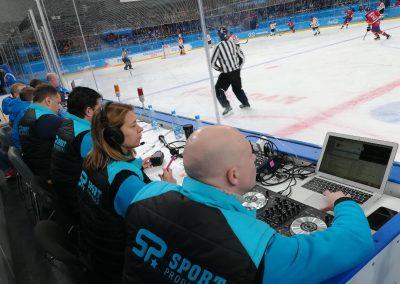 Match de hockey à Krasnoyark